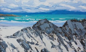 Rocks of Iona 50x60cm
