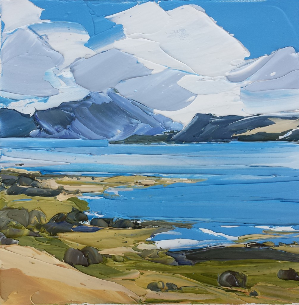 Sound of Mull,  30x30cm