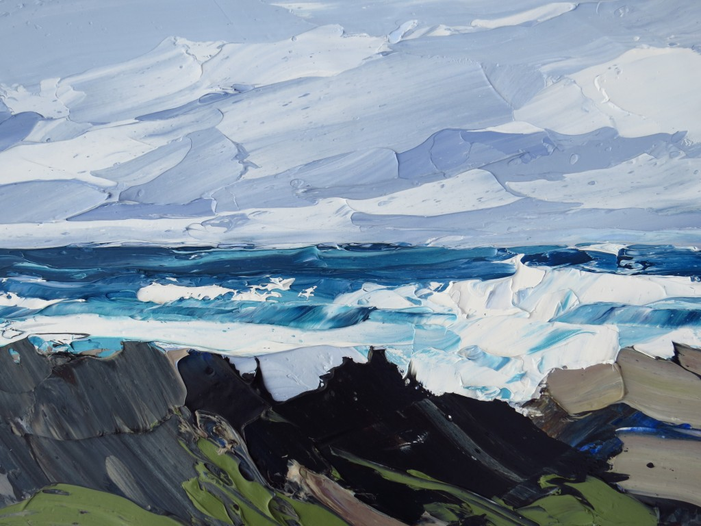 Breaking Waves, 50x70cm