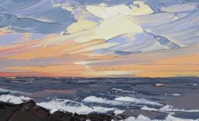 Newborough Anglesey 50x70cm