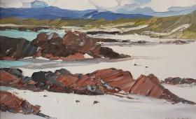 Red Rocks Iona 40x60cm
