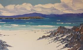 Traigh Ban, White Strand, Iona  90x110cm