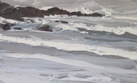 Winter Storm 80x80cm